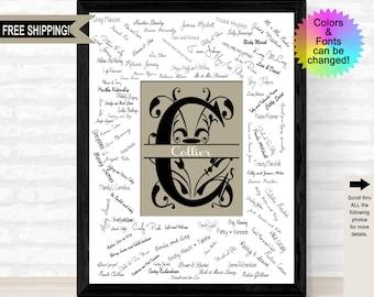 Custom Signature Mat Etsy