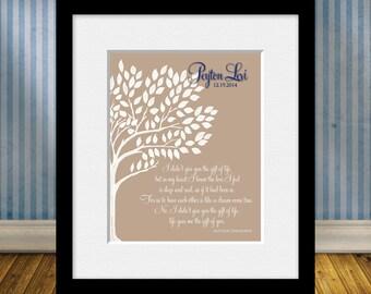 Gift for Adopting Parents, Adoption Poem, Personalized ADOPTION Print, Adoption Print, Personalized Adoption Poem,