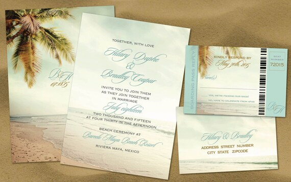 Inexpensive Wedding Invitation Sets