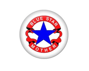 Blue Star Mother Buttons/Pins