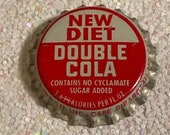60 s Diet Double Cola Bottle Cap