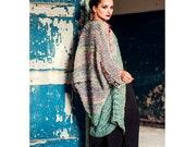 Women overcoat jacket Knitting ovecoat Long Warm Winter cardigan Chunky Oversized Bohemian clothing Wool jacket Hand knit Gift for her