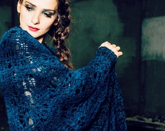 womens gift - bohemian clothing – wrap shawl - blanket shawl - chunky shawl extra large - sale