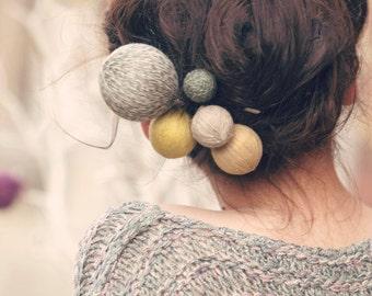 Déclaration bijoux personnalisé couleur Festival printemps mode mères journée cadeau broche accessoires pour cheveux cadeau pour son pique fleur épingles à cheveux