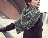 chunky scarf - long scarf - spring scarf - hand knit - preppy clothing - hipster clothing - oversized