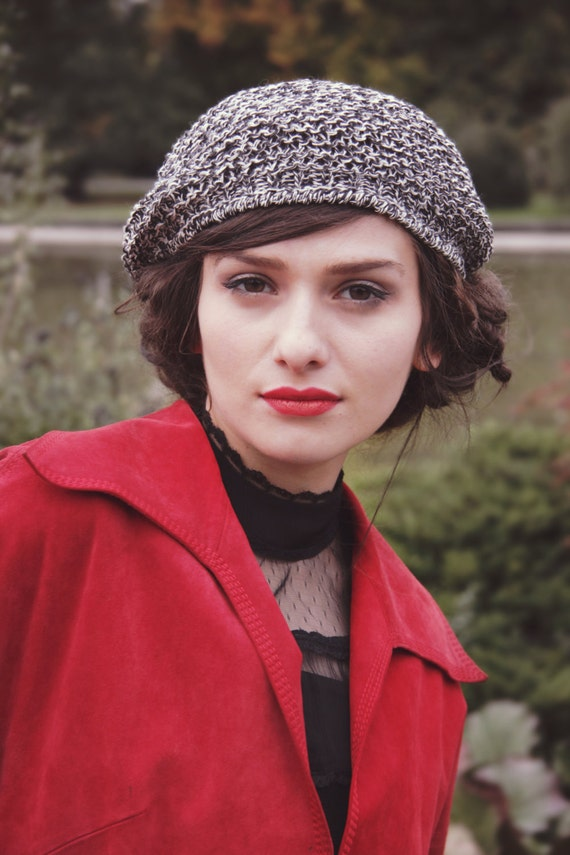 woman s beret valentin gift french beret tam hat  7944fca4dcc