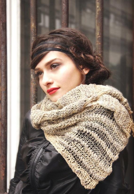 foulard unique tendances de lhiver avantgarde foulard   Etsy e1fe205e448