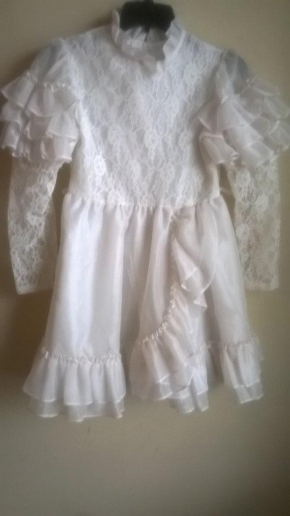 Vintage 1970s fashionland dress,Girls