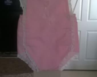 Little girl soft pink romper