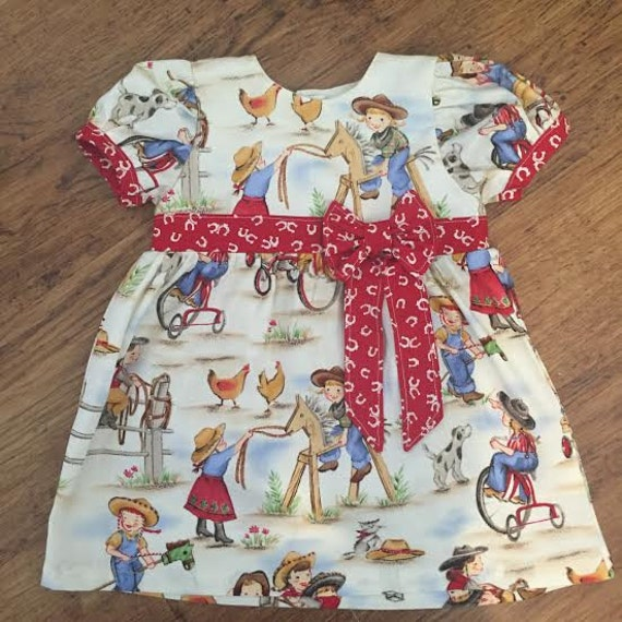 Abbigliamento Donna Bambino Ragazze Cowgirl Outfit Etsy