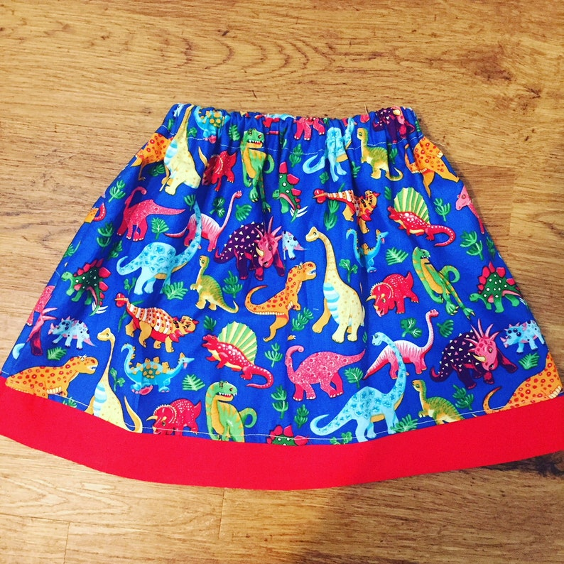 e3e3a7198e9d Girls Skirt Dinosaur Skirt Girls Dinosaur party Dinosaur | Etsy