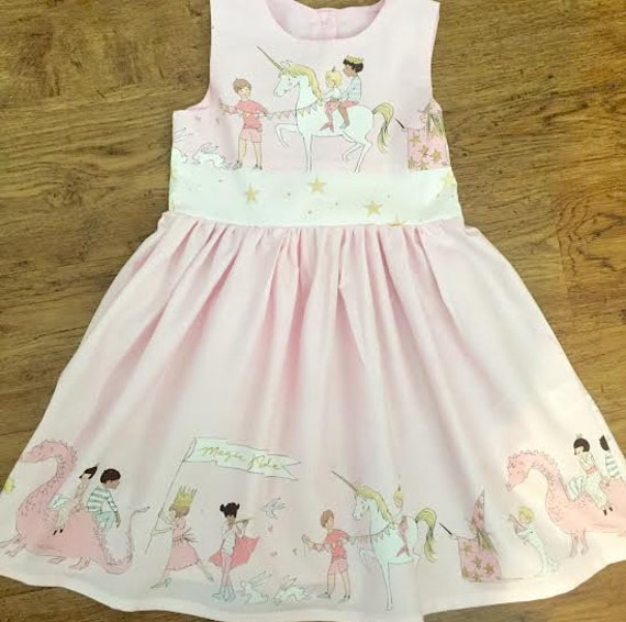 for whole family cute elegant appearance Girl's Dress -Girls Unicorn Dress - Baby Girl 1st Birthday Unicorn Outfit  -Girls Princess Party Dress -Flower Girl Dress -Christening outfit