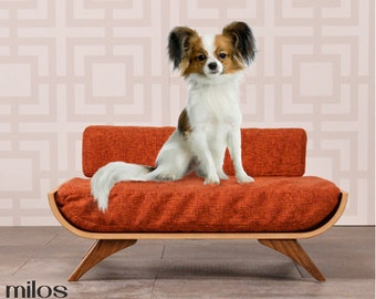 Milos Mid Century Modern Dog Bed
