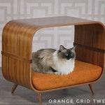 Cat bed, WXLER 501s, Mid century modern