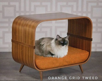 Modern Cat Bed Etsy