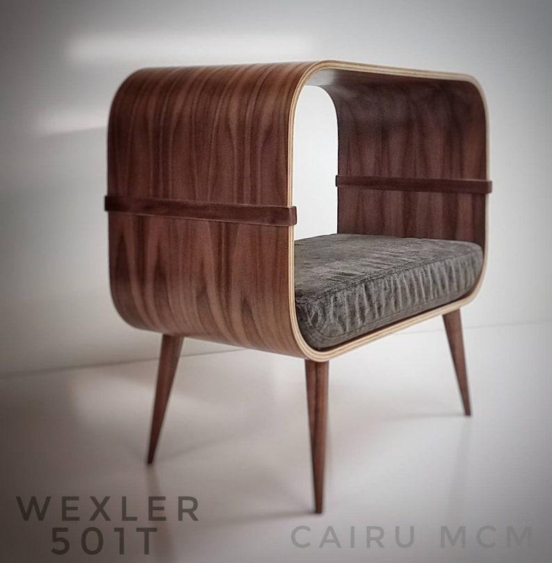 Cat bed WEXLER 501T Mid Century Modern image 1