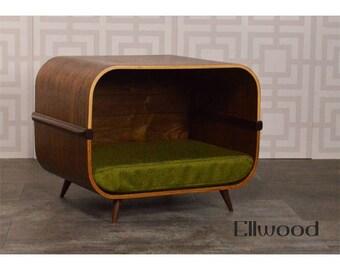 Mid century modern pet bed