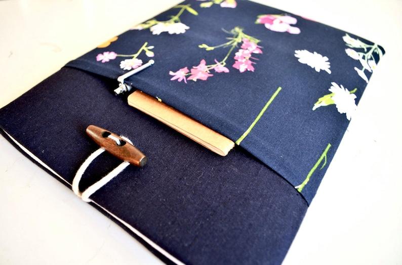 Whimsical Flowers Dell Laptop Sleeve Lenovo Yoga Case Surface Pro X Bag Floral Laptop Sleeve Surface Laptop 3 Case