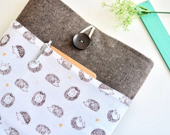 """Hedgehogs Laptop Case Laptop Sleeve 11.6"""" 13.3"""" 14"""" 15.6"""" inch Computer Sleeve Custom Size Available"""