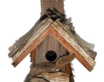 Bird House Antique NC Appalachian Mt Folk Art Handmade