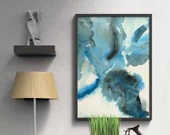 Abstract Watercolor Print- Abstract Art Gifts- Large Art Print- Fine Art Print- Colorful Abstract Art Print- Art Print- Wall Art Prints