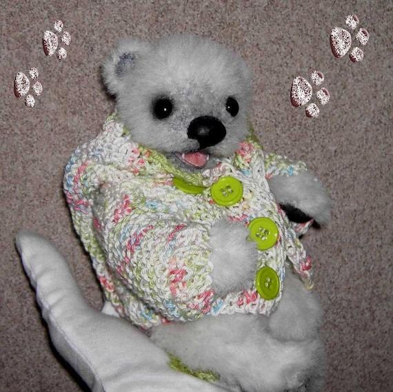 Schnittmuster/Pattern für Baby Eisbär Esmey ca.20cm | Etsy