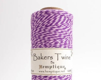 Hemptique Purple Pink Bakers Twine, Hemptique Cord, Hemptique Bakers Twine, Pink Bakers Twine, Purple Bakers Twine BTS0021