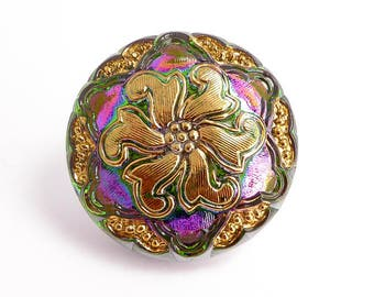 Czech Glass Buttons