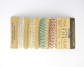 Metallic Classic Glitter Hemp Cord 0.5mm, Hemptique Cord, Natural Hemp Cord, Metallic Hemp Cord HMC0032