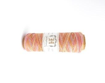 62.5m x Taffy Hemp Cord 0.5mm, Hemptique Cord, Pink Hemp Cord, Orange Hemp Cord, Yellow Hemp Cord HMS0001