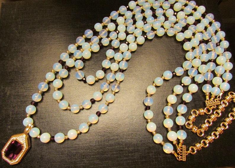 Opalescent Jewellery Opal Jewelry Opalescent Jewelry Opalescent Necklace Opal by Josephine/'s Cotillion Opal Jewellery Opal Necklace