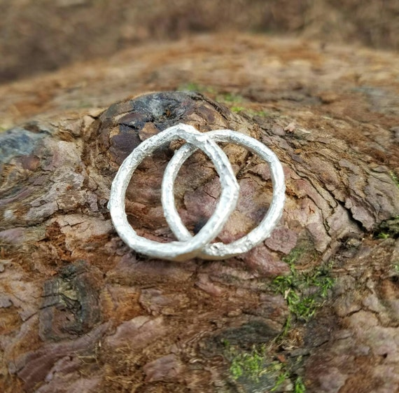 Western Redcedar Root Sterling Silver Ring - Northern California Nature Jewelry