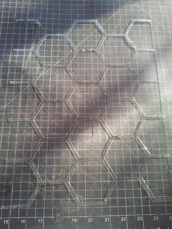 Honeycomb Wall Stencil - Hexagons