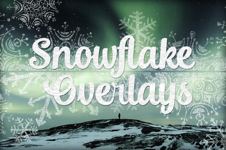 12x12 Art Photography Winter Overlays Chalkboard Snowflake Overlays Snow flake clipart Textures Snowflake Texture Overlays Clip Art
