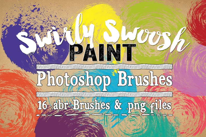 6b072f754a8d Paint Photoshop Brushes Swirly Swoosh Paint Digital