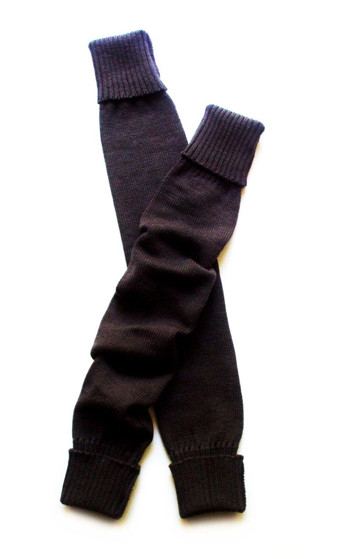 Women/'s Virgin wool long leg warmersboot socksknee highyoga socksleg wear