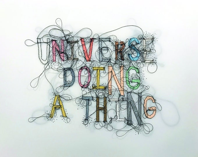 Universe Doing a Thing 8x10 Print