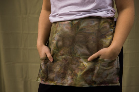 Green Camo Cafe Apron