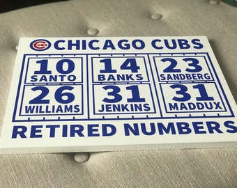 Wrigley Field Scoreboard Chicago Cubs Collectible Small
