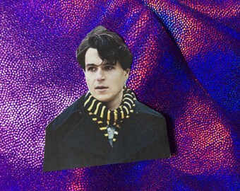 Ezra Koenig Scarf Sticker