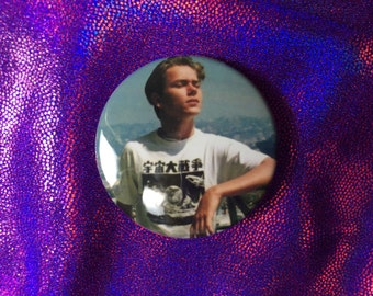 River Phoenix Inspired Button