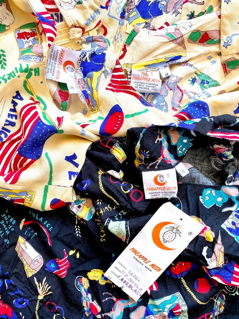 Vintage 80s 90s Vote Election Day Uncle Sam American Patriotic Veto Political Graphic Kitsch Dress