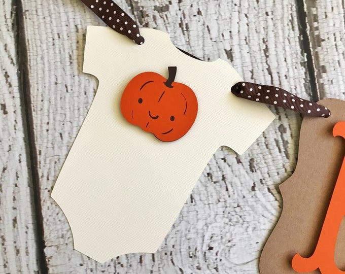Featured listing image: Fall Baby Shower Banner, Little Pumpkin Banner