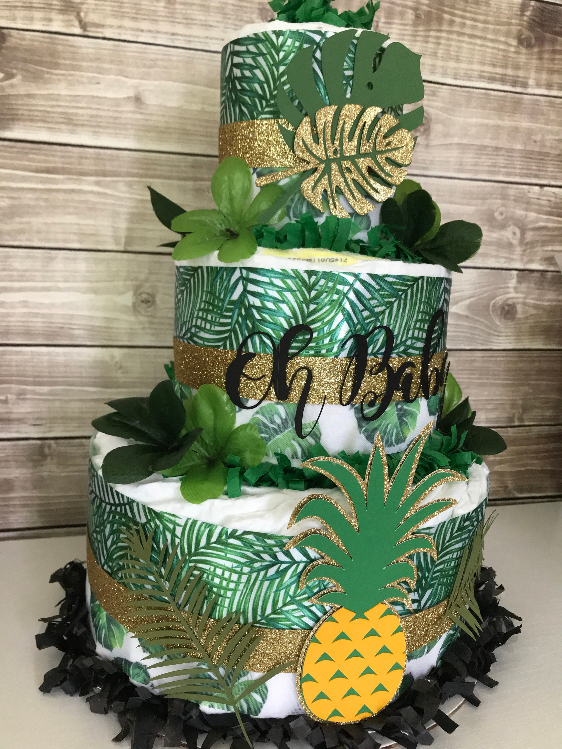Tropical Baby Shower Centerpiece Tropical Baby Shower Decorations