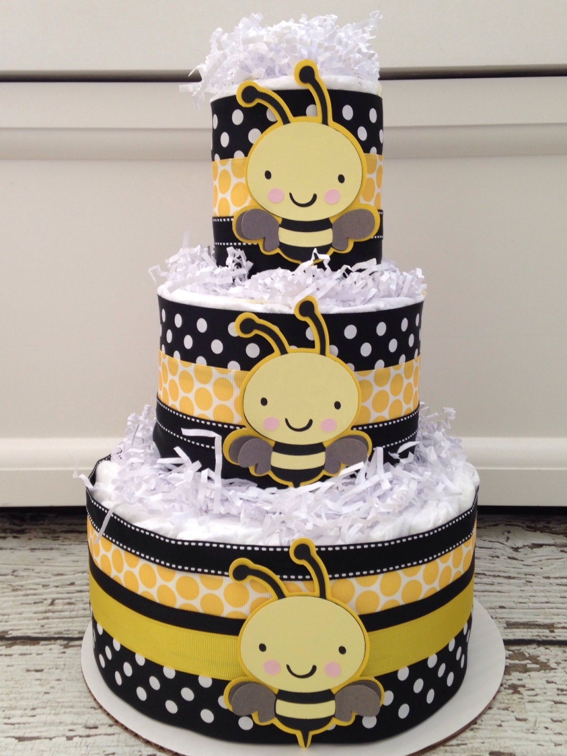 Bumble Bee Baby Shower In A Box Complete Bee Theme Baby Shower