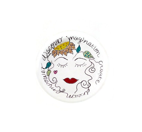 EMPOWER - Hand Designed Jewelry Dish