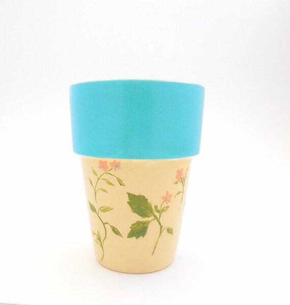 ENGLISH GARDEN - Hand Designed Plant Pot