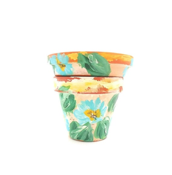 TUSCANY - Hand Designed Distressed Plant Pot