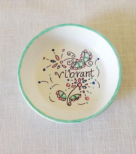VIBRANT - Hand Designed Jewelry Dish