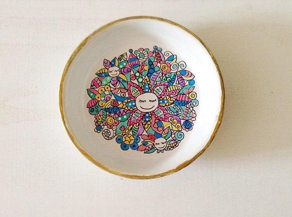 MOSAIC - Hand Designed Mandala Jewelry Dish